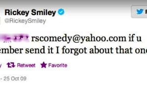 Rickey Smiley Email Exposed