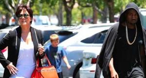 Kanye & Kris Jenner at Odds