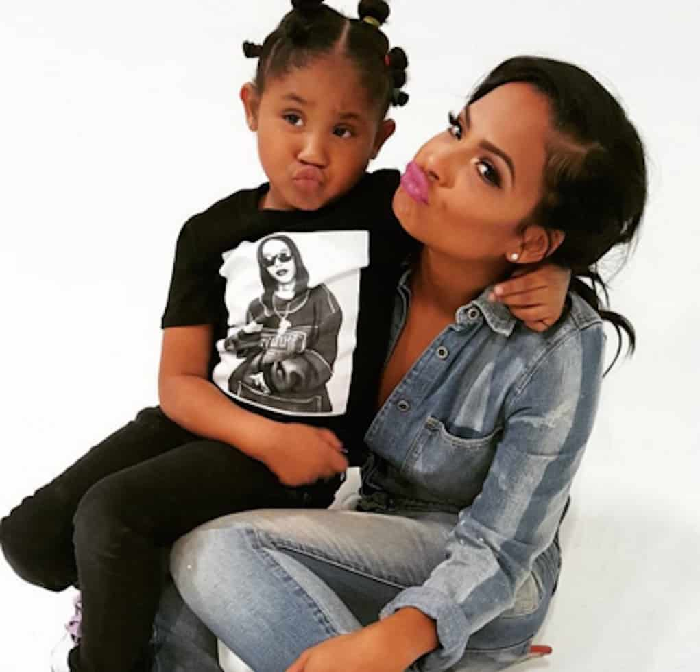 Christina Milian Gets Dragged for Letting Daughter Wear Makeup
