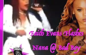 FAITH EVANS TURNS UP BOSTON, FLASHES NANA 2 CONCERTGOERS!!!