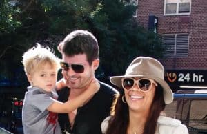 robin thicke custody son