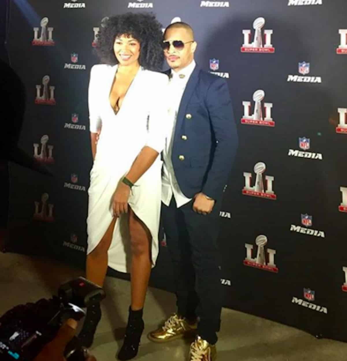 T I Steps Out With New Girlfriend