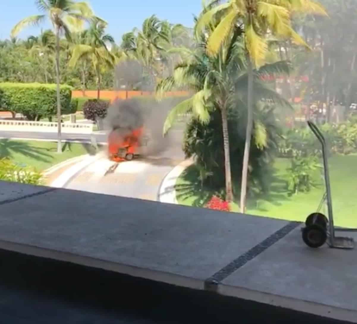Waka Flocka Flame's Car Gets Torched In Mexico!
