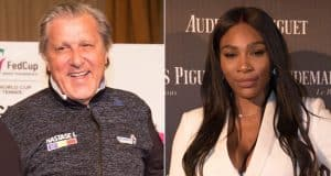 Ilie Nastase serena williams racist unborn baby