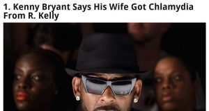 R. Kelly Spreading Sexually Transmitted Disease