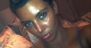 kim kardashian black face