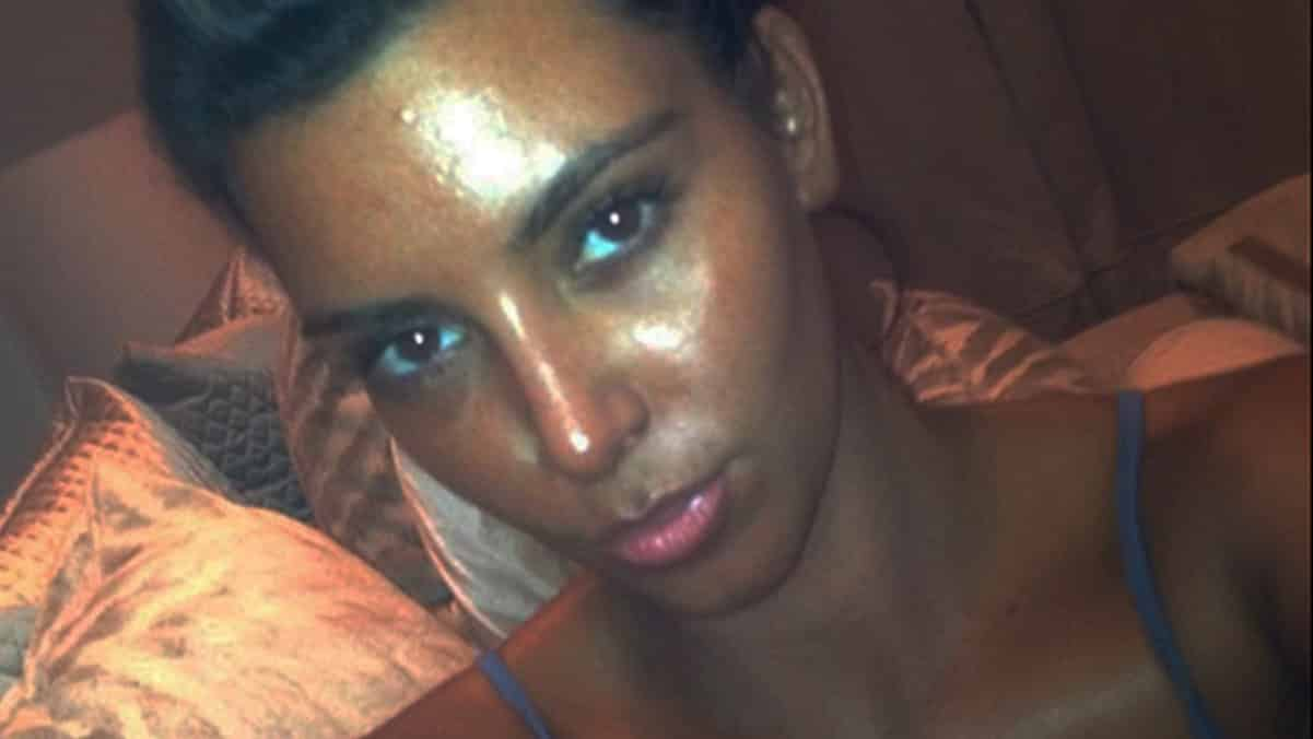 kim kardashian black face