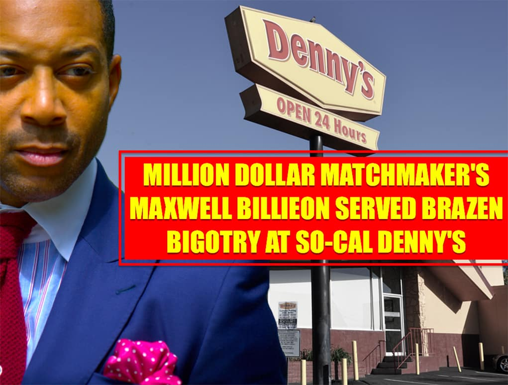 Racism & Confederate Complacency Exposed at DENNY's by WE TV