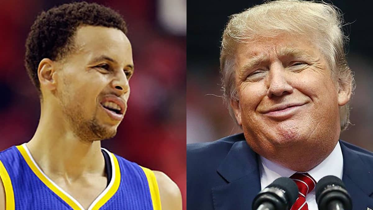 steph curry donald trump white house