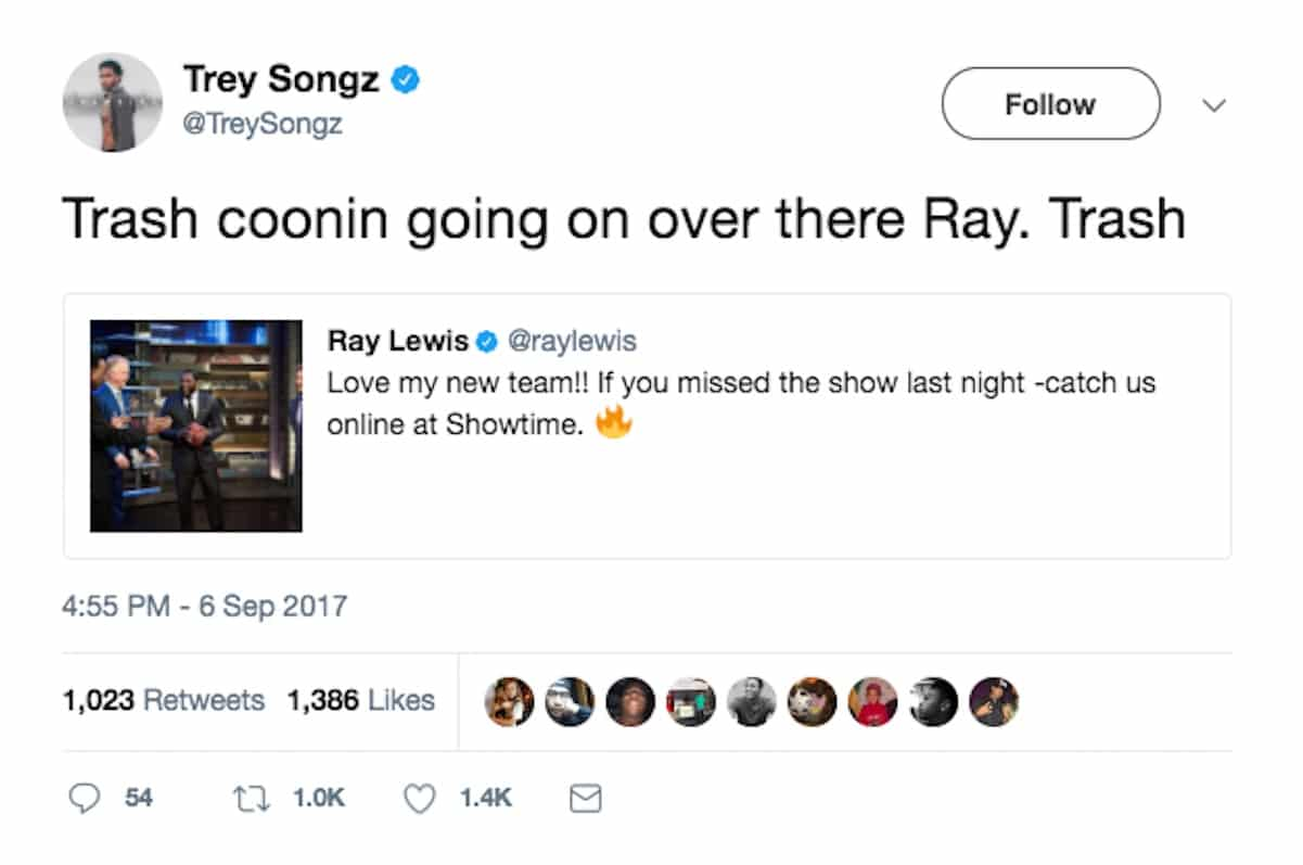 trey songz ray lewis coon
