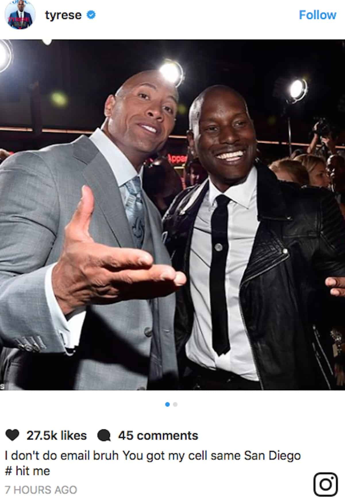 tyrese the rock