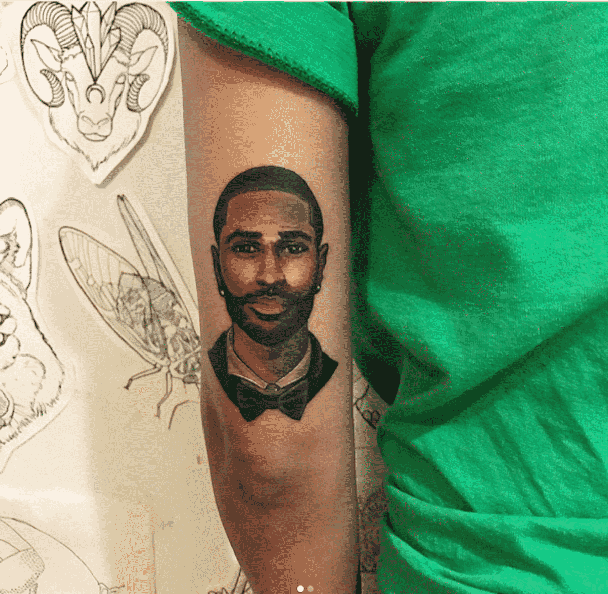 jhene aiko big sean tattoo