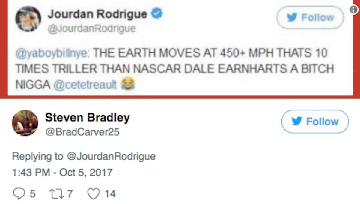 jourdan rodrigue cam newton racist tweet 1