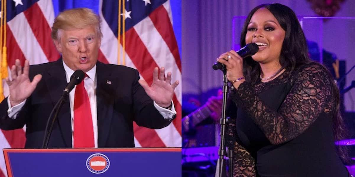 chrisette michele regrets trump inauguration