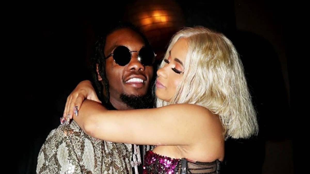 cardi b offset cheating threat