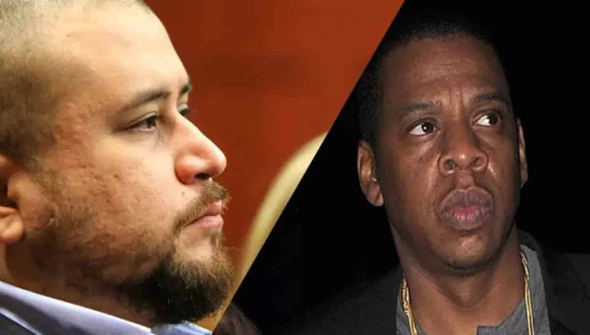 george zimmerman threatens jay z