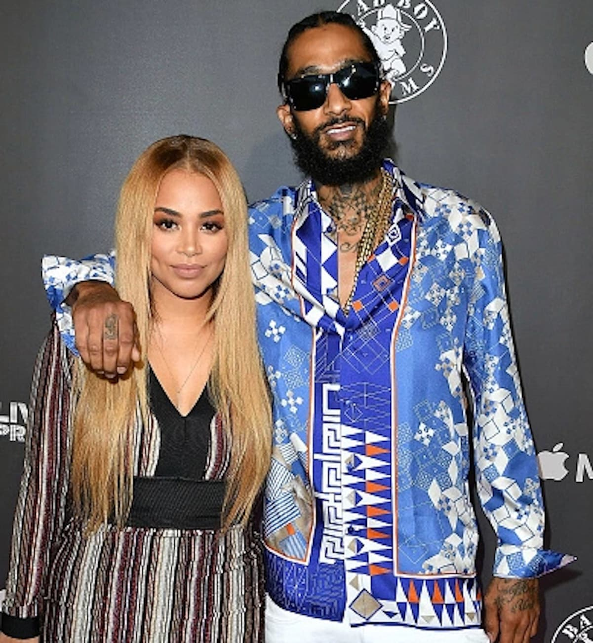 nispey hussle lauren london pull out