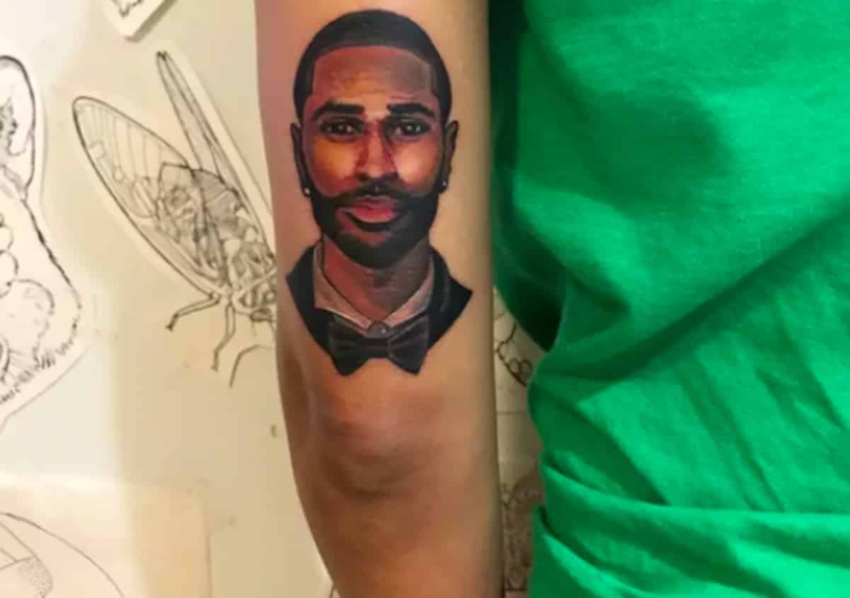 Jhene aiko unfollows big sean after cheating allegations for Big sean tattoos