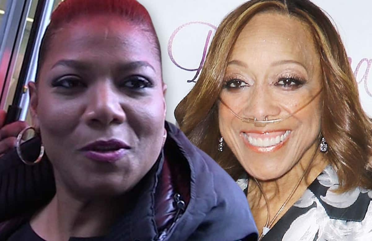 queen latifah mom dies