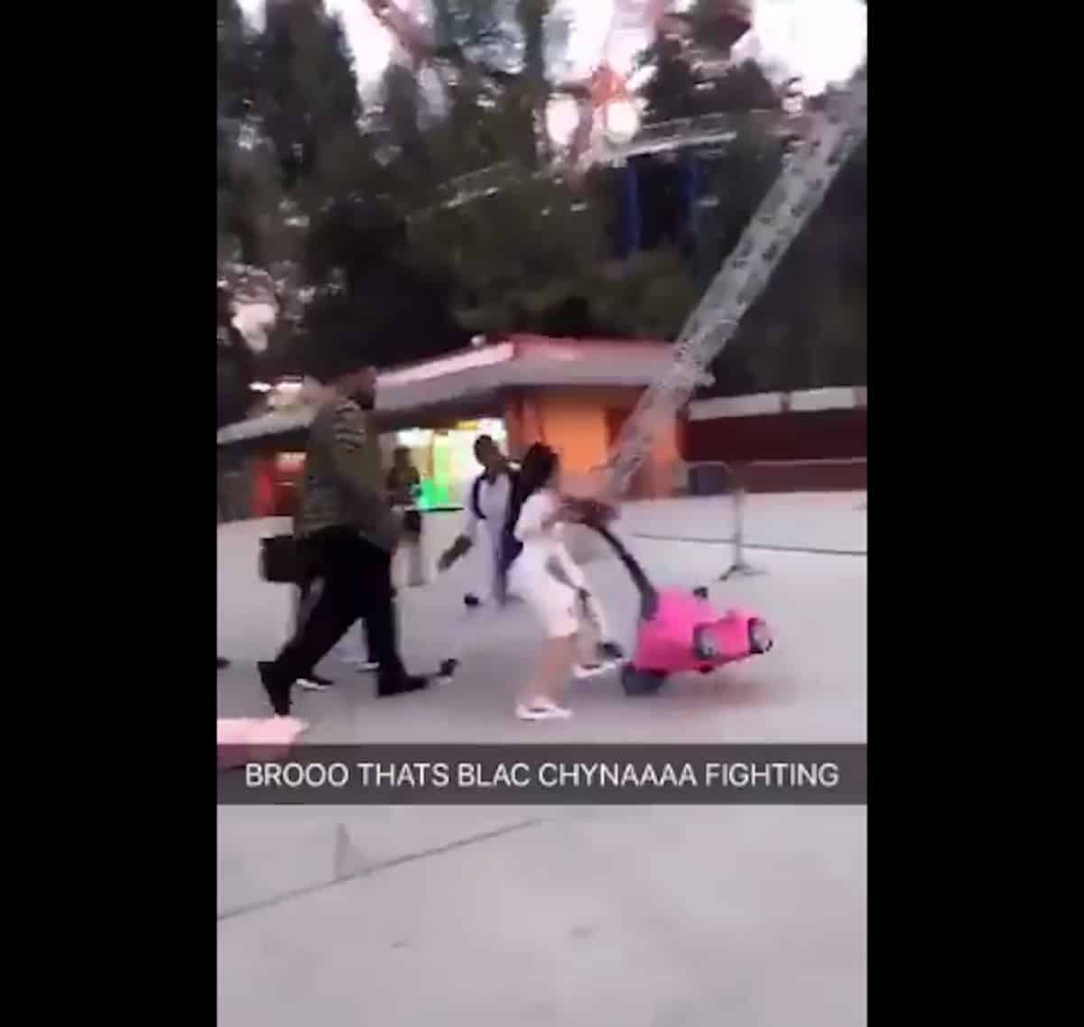 blac chyna fight six flags