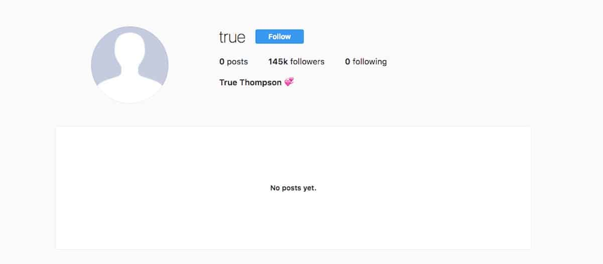 khloe true instagram account