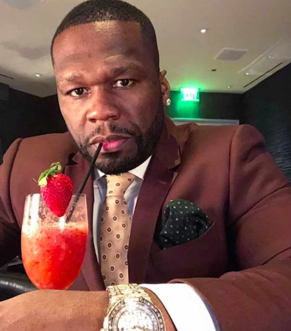 50 cent leaves instagram