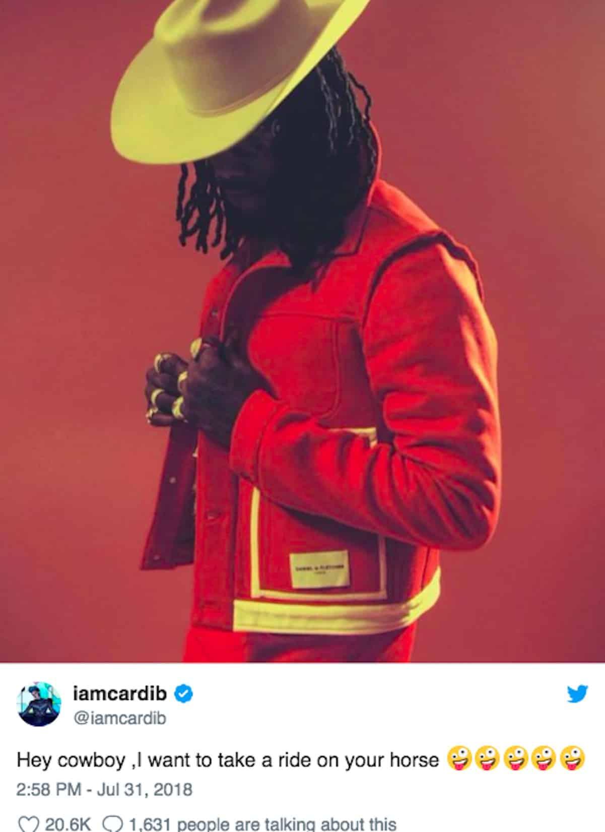 cardi b offset cowboy