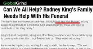 Kali Bowyer Rodney King Scam Fund