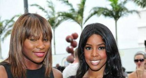 Serena Williams & Kelly Rowland Love Affair