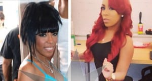 K. Michelle Before & After Butt Implants