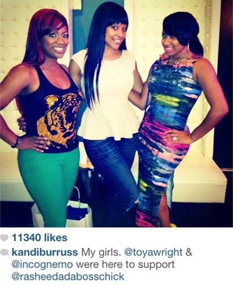 Monyetta, Kandi & Phaedra Show Up For Rasheeda's Baby Shower
