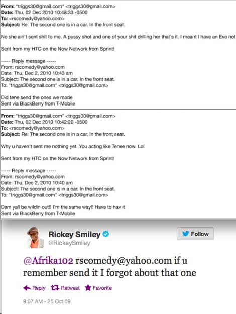 Rickey Smiley Caught Cheating