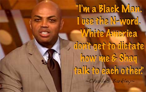 Charles Barkley Loves Niggas