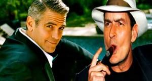 Charlie Sheen vs. George Clooney