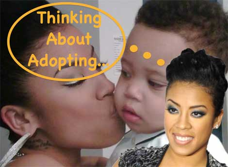 Keyshia Cole Wants a Baby!