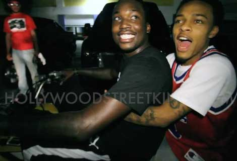 Meek Mill & Bow Wow Bromance