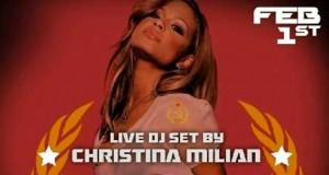 DJ Christina Milian