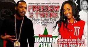 MLK Day Twerk Party