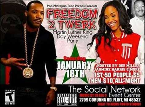 MLK Day Twerk Party