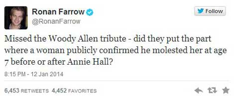 ronan-farrow-woody-molestor-tweet