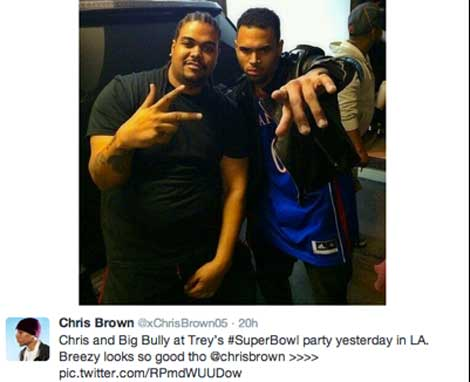Chris Brown's Superbowl Violations
