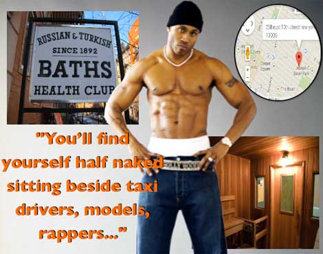 LL Cool J NYC Bath House Exposed