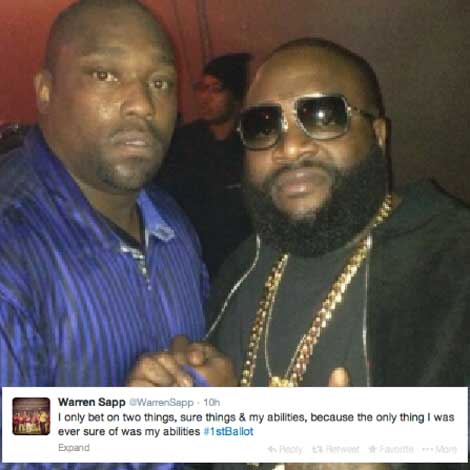 Rick Ross vs. Warren Sapp