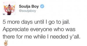 Soulja Boy Goes to Jail!