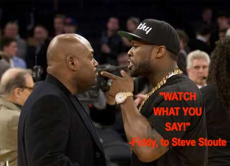 50 Cent Steve Stout Fight