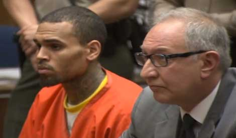 Chris Brown Prison Orange