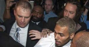 Chris Brown Locked Up