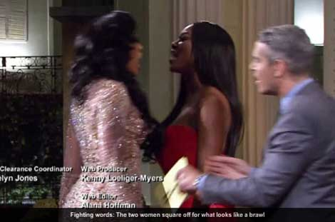 Porsha Kenya Moore Fight Photos