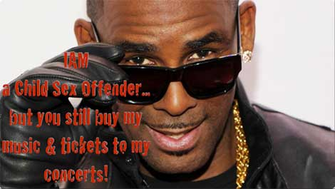 R Kelly is a Predator