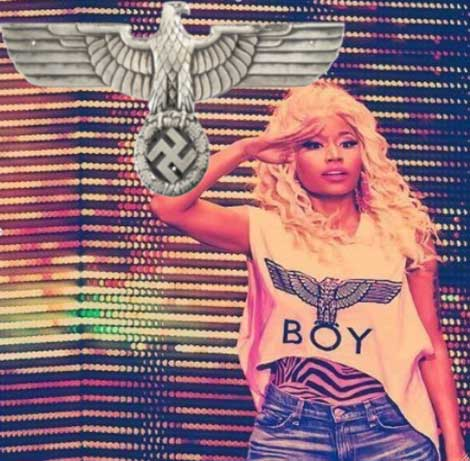 Nicki Minaj Secret Nazi